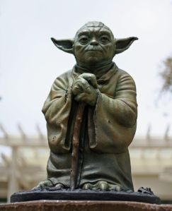 Do or do not. There is no try... (Photo credit - Niallkennedy, Flickr)